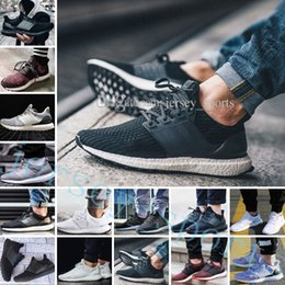 e4a9ed34d Ultra Boost 2.0 3.0 4.0 UltraBoost men running shoes sneakers womens  outdoor Sports UB CNY Dog Snowflake Core Triple Black All White Grey