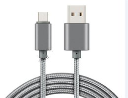 Wholesale 1M M M Metal Housing Braided Phone Micro USB Cable A High Speed Charging USB Type C Cable with Bend Lifespan Android