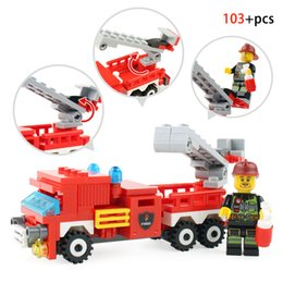 $enCountryForm.capitalKeyWord Canada - 348PCS Fire Fighting Car Helicopter Boat Building Blocks Compatible Legoingly City Firefighter Figure Bricks Toys For Kids Gifts