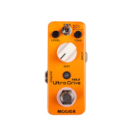 metal effect pedal Australia - Mooer Ultra Drive MKII Distortion Guitar Effect Pedal 3 Working Modes: Original Extra Ultra Full Metal Shell True Bypass