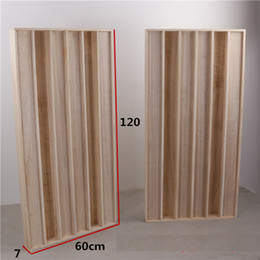 Wholesale 2pieces 120x60cm High quality Paulownia wood material sound diffuser wood diffuer panels for music hall home theaters acoustical panels