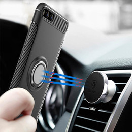 $enCountryForm.capitalKeyWord NZ - For Xiaomi Mi6 Magnetic Car Phone Holder Finger Ring Shockproof TPU+PC Cover for Xiaomi Mi 6 Phone Cases back cover