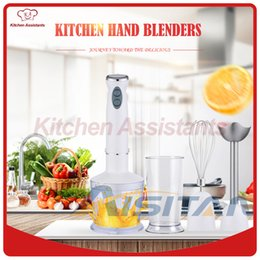 $enCountryForm.capitalKeyWord Australia - MQ535 Electric Smart Kitchen Food Cuisinart Stick Hand Blender Mixer Immersion for Vegetable Chopper with Cups 110V 220V 700W