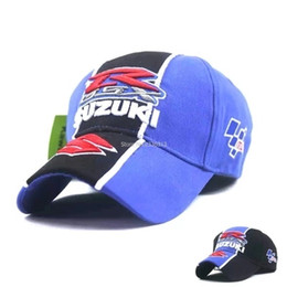 $enCountryForm.capitalKeyWord NZ - New Black blue F1 GSX SUZUKI R baseball cap hat adjustable cotton embroideried moto gp cap Motorcycle Race trucker Hats