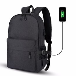 Men Women Anti-Theft Backpack Computer Bag With Usb Charging Port And  Headphone Port Travel Daypack for 15.6Inch Laptop Notebook 98bbe82c4a07