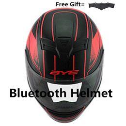 $enCountryForm.capitalKeyWord NZ - Motorcycle Bluetooth Helmet Bike Dark lens With Built-In Intercom music phone call mate black S M L XL XXL