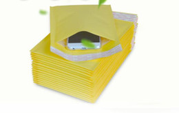Discount wrap for phone - 5.1*6.6inch 130*170mm+40mm Kraft Bubble Mailers Envelopes Wrap Bags Padded Envelope Mail Packing Pouch For Iphone X 8 7