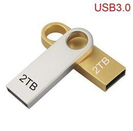 Yeni Ofis USB 3.0 Flash Sürücüler Metal USB Flash Sürücüler 2 TB Kalem Sürücü Pendrive Flash Bellek USB Sopa U Disk Depolama indirimde