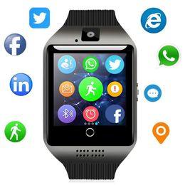 Montre intelligente Bluetooth - Traqueur de remise en forme de téléphone de montre-bracelet de Smartwatch d'écran tactile de WJPILIS