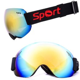 Chinese  Extra Large View Sphere Surface Ski Goggles Eyewear for Skiing Outdoor Sports manufacturers