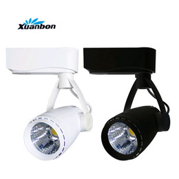 7w clothing UK - Dimmable LED COB Track light 9W 5W 7W Wall Lights Commercial Track Light For Clothes Shoes Shop Spotlights AC220V 110V