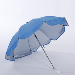 bumbershoot umbrella UK - Universal Stroller Umbrella Baby Carriage Infant Child Sunshade Umbrellas Ultraviolet Proof Easy To Carry Bumbershoot Hot Sale 17xx ii