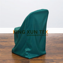 Wedding Chairs For Sale Wholesale Australia - Hot Sale 100% Polyester Folding Chair Cover For Banquet Wedding Decoration