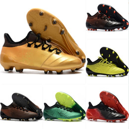 Zapatillas de fútbol para niños X17.1 FG Botas de fútbol para niños  Champagne 2018 c48796736aef8