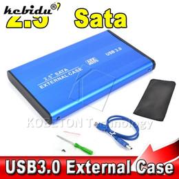 "external enclosures for hard drives 2019 - kebidu 2017 Hot sale High Speed 2.5"" USB 3.0 HDD Case Hard Drive SATA External Enclosure Box for PC Computer Laptop"