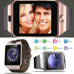 Cheap Remote Cameras Australia - Smart Watch cheap Sim Watch Smartwatch Support TF Card Bluetooth Smart Clock GSM Call Standard Bluetooth