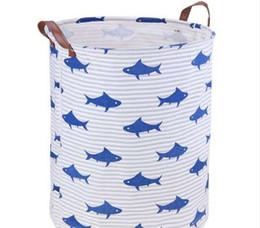 $enCountryForm.capitalKeyWord Canada - New Laundry Basket Storage 40*50cm Cartoon Pattern Large Basket For Toy Washing Dirty Clothes Sundries Storage Basket Box