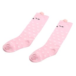 $enCountryForm.capitalKeyWord UK - 1 Pair Baby Cotton Long Socks Cartoon Knee Toddler Kids Boys Girls Christmas Unisex Children Socks Festival Baby Gift