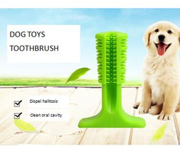 teeth sticks 2019 - Silicone Dog Toothbrush Soft Brushing Stick Dog Chew Teeth Grooming Tools Dog Puppy Clean Mouth Brushes discount teeth s