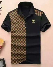 052b9fc9f9418 2018 Wholesale clothing mon Men s G T-Shirts Full screen tiger printing hip  hop clothing mens designer shirts plus size blue Khaki 1762