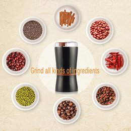 Discount food grinders electric - Household Electric Coffee Grinding Machine Coffee Grinder Ultra - Fine Grinder Chinese medicine Grain Milling Machine Pi