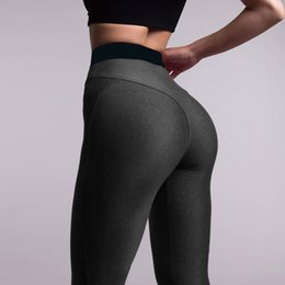 $enCountryForm.capitalKeyWord NZ - FRECICI Women Solid Booty Up Yoga Pants Compression Thigts M Line Butt Lift Workout Leggings Hip Push Up Stretch Sports Legging