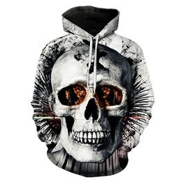 $enCountryForm.capitalKeyWord Australia - New design skull poker print Men3D Sweatshirts 508#
