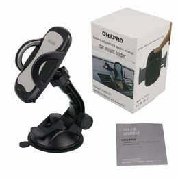Universal car phone holder adjUstable online shopping - Car Phone Mount Cell Phone Holder Car Dash Windshield Dashboard Universal Adjustable Rotating for iPhone Samsung