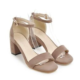 $enCountryForm.capitalKeyWord UK - Summer Women Sandals Open Toe Women's Sandles Thick Heel Women Shoes Gladiator Shoes
