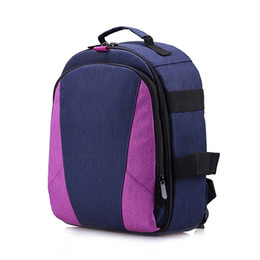 Travel lapTop cases online shopping - Outdoor Photography Padded Camera Bag Travel Backpack Shock proof Water resistant with Tripod Holder Laptop Pocket for DSLR Cameras