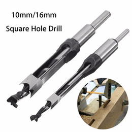 Chinese  10mm 16mm Square Hole Saw Auger Drill Bit Mortising Chisel Auger Drill Bit WoodWorking Tool manufacturers
