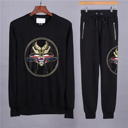 db276512857 18ss дешевые Оптовая luxry бренд одежды Мужская одежда Мужская спортивный  костюм футбол толстовка свитер толстовка мужская спортивные костюмы