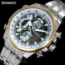 $enCountryForm.capitalKeyWord Australia - X men dual display watches luxury sports watches digital chronograph watch BOAMIGO waterproof quartz gift wristwatch reloj hombre