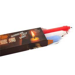 La candela all'ingrosso di temperatura insufficiente 3 pc / pacchetto giocattoli erotici del sesso di Bondage del sesso Bondage sessuale per le coppie in Offerta
