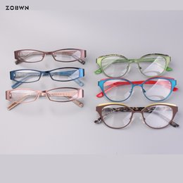 0affed40bcca Mix wholesale full rim metal frames Fashion Brand Cat Glasses Frames  Eyeglasses Women Men Optical Myopia Frame for reading glass