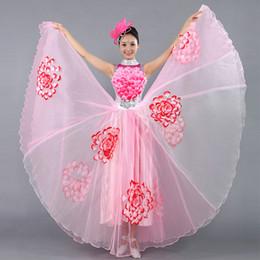 $enCountryForm.capitalKeyWord Australia - Festival Prom Flamenco Costumes Female Paso Doble Wear Choral Dance Clothes Folk Dance Sequined Slim Dress