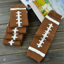 Venta al por mayor de Calcetines de Navidad para bebés Chaqueta de fútbol para niños Calentadores para las piernas Calzas para niños adultos Brazo para adultos Fútbol americano Niños algodón calcetines 2 colores