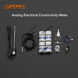 Wholesale DFRobot Genuine Analog Electrical Conductivity Meter With Temperature Compensation for Water quality monitoring Aquaculture etc