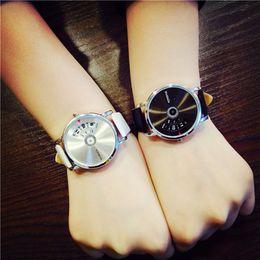 $enCountryForm.capitalKeyWord NZ - New Lover's Watches women men Creative Personality Korean style Fashion Simple wrist Watches high quality relogios femininos #05