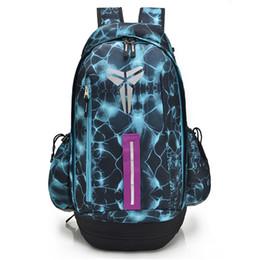 Fast Backpack Canada - KOBE Basketball Backpack Shoulder Bags Boy's Sports Travel School Book Bags Teenager Outdoor Hiking Backpacks Duffle Bags Fast DHL Free New