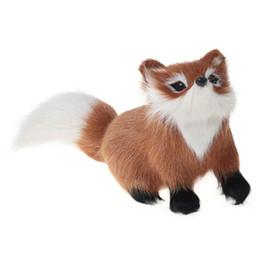 $enCountryForm.capitalKeyWord UK - Furs Fox Model Simulation Brown Fox Toy Gift Kid toys