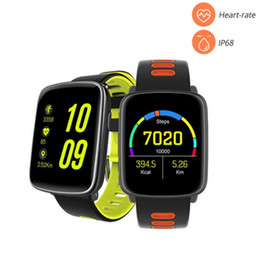 $enCountryForm.capitalKeyWord NZ - New GV68 Smart Watch IP68 waterproof MTK2502 Bluetooth 4.0 Sport Watch Support Pedometer Heart Rate test for iPhone Android