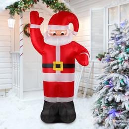 $enCountryForm.capitalKeyWord NZ - 2.4m Tall Inflatable Christmas Santa Claus Outdoor Christmas Decorations for Home Supermaket Ornaments Yard Garden Decoration