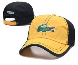 China New Crocodile Style Classic Sport Baseball Caps High Quality Golf Caps Sun Hat for Men and Women Adjustable Snapback Cap Best Dad Cap suppliers