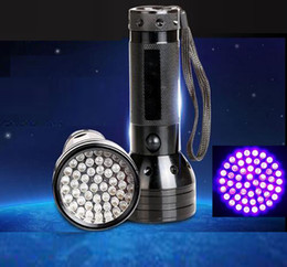 pet travels NZ - Free Mail 51 LED 395 nm UV Ultraviolet Black Flashlight 3AA mini Torch Lamp Pet Urine Stain Detector
