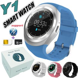 $enCountryForm.capitalKeyWord Canada - Y1 SmartWatches Round Support Nano SIM &TF Card With Whatsapp And Facebook Men Women Business Smart watch Y1 For IOS Android