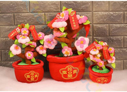 $enCountryForm.capitalKeyWord Canada - Chinese New Year Spring festive Potted plants Fortuna mascot flower ornament party favor home table art Decoration