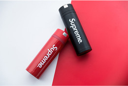 Chinese  Designer Tide Red Stainless Water Bottles Stainless Steel Vacuum Flask Car Thermal Water Bottle Coffee Cup Beer Thermo Mugs manufacturers