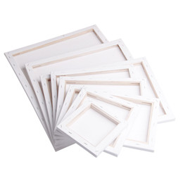 White Blank Square Artist Canvas Wooden Board Frame For Primed Oil Acrylic Paint 20x20cm on Sale