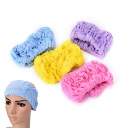 Girl Towel Hot UK - 1Pc Hot Sale Hair Style Towels Girls Towel Face Wash Shower Bath Spa Makeup Hair Headband for Bath